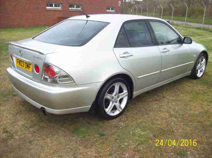 2003 LEXUS IS200 SPORT SILVER PX WELCOME