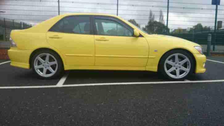 lexus 2003 is200 sport yellow px 4x4 car for sale. Black Bedroom Furniture Sets. Home Design Ideas