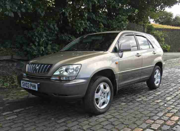 2003 LEXUS RX 300 SE ESTATE PETROL