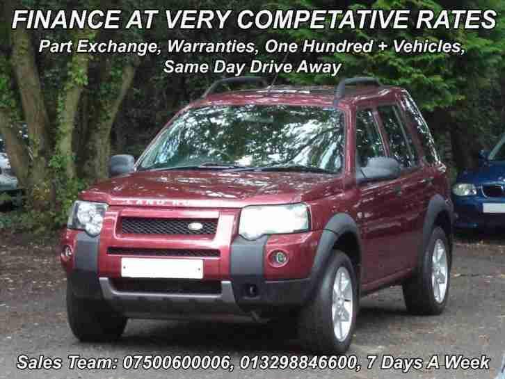 2003 Land Rover Freelander 2.0 Td4 HSE 5dr. car for sale