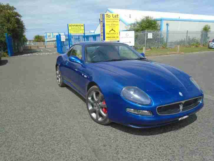 2003 MASERATI COUPE V8 CAMBIO CORSA 4200 6 SPEED SEMI AUTO