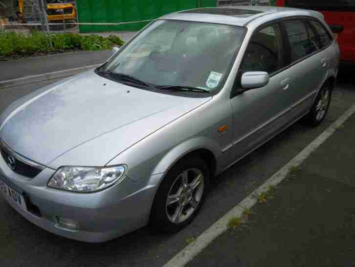 2003 MAZDA 323F 1.6 GSI petrol, NEW MOT, drives OK, NO RESERVE, must go
