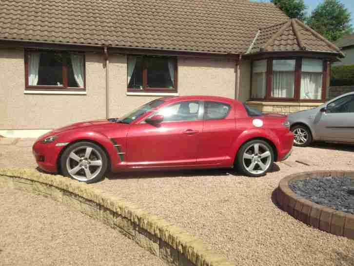 2003 MAZDA RX-8 231 PS RED