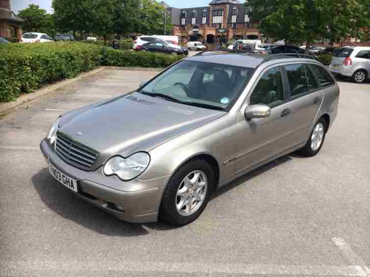 2003 mercedes c220 cdi classic se automatic estate 7 service stamps. Black Bedroom Furniture Sets. Home Design Ideas