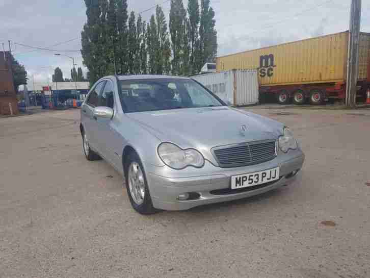 2003 MERCEDES C220 CDI DIESEL AUTOMATIC FULL