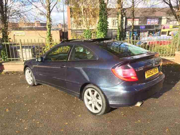 2003 MERCEDES C230 KOMPRESSOR SE AUTOMATIC VERY CLEAN AND WELL LOOKED AFTER SALE