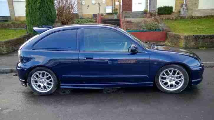 MG ZR. MG car from United Kingdom