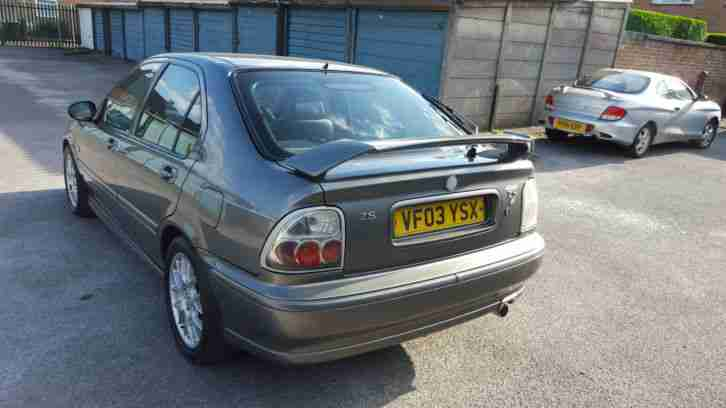 2003 MG ZS 1.8 ( 115bhp ) Atomix SE * FULL 12 MONTHS M.O.T June 2016 *