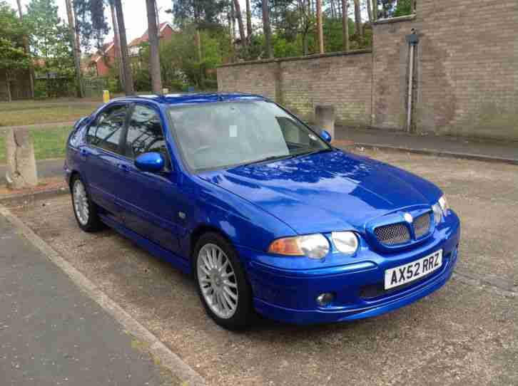 2003 MG ZS BLUE