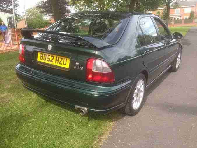 2003 MG ZS+ GREEN