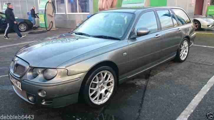 2003 MG ZT-T TURBO 160 GREY