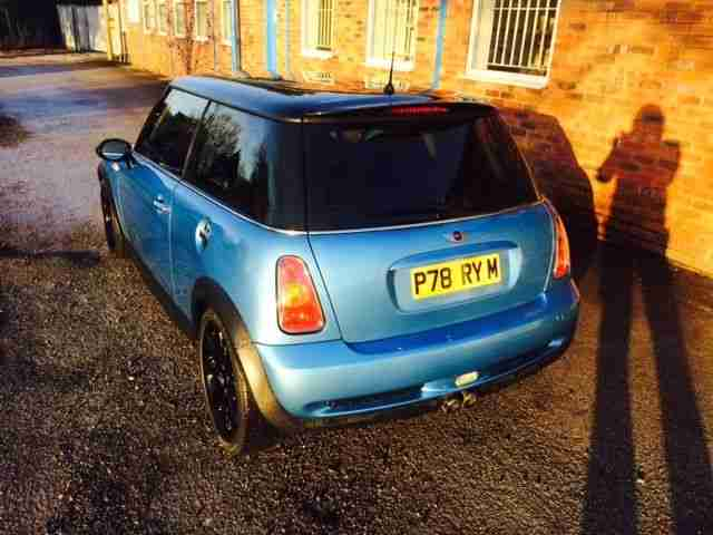 2003 MINI COOPER S BLUE CHILLI PACK 220BHP ONLY 71K WORKS