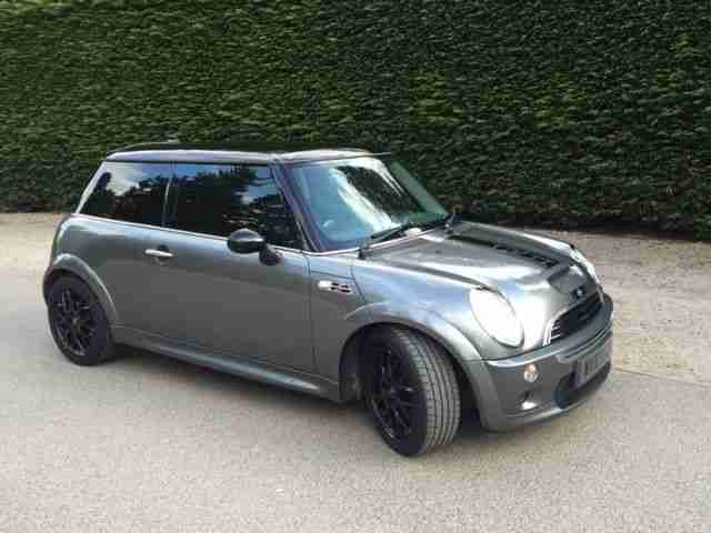 mini 2003 cooper s grey car for sale. Black Bedroom Furniture Sets. Home Design Ideas