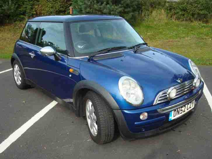 2003 ONE METALIC BLUE MANUAL PETROL