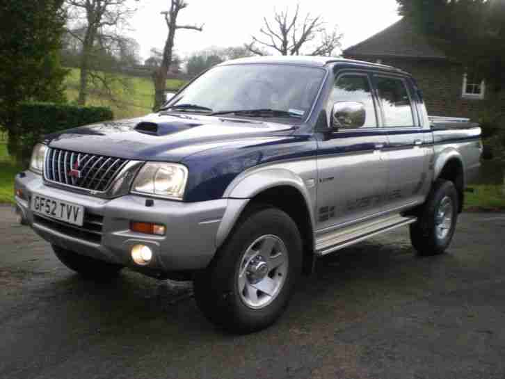 2003 L200 ANIMAL LWB 4WD BLUE