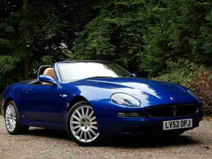maserati 2003 spyder 4 2 cambiocorsa 2dr car for sale. Black Bedroom Furniture Sets. Home Design Ideas