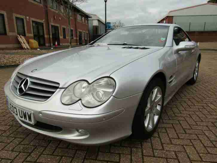 2003 Mercedes-Benz SL 500 COVERTIBLE AUTO 2 DR LEFT HAND DRIVE