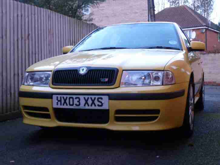 2003 Mk1 OCTAVIA VRS Rs YELLOW 1.8T 180