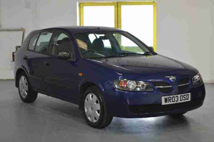 nissan 2003 almera s blue 1 5 car for sale. Black Bedroom Furniture Sets. Home Design Ideas