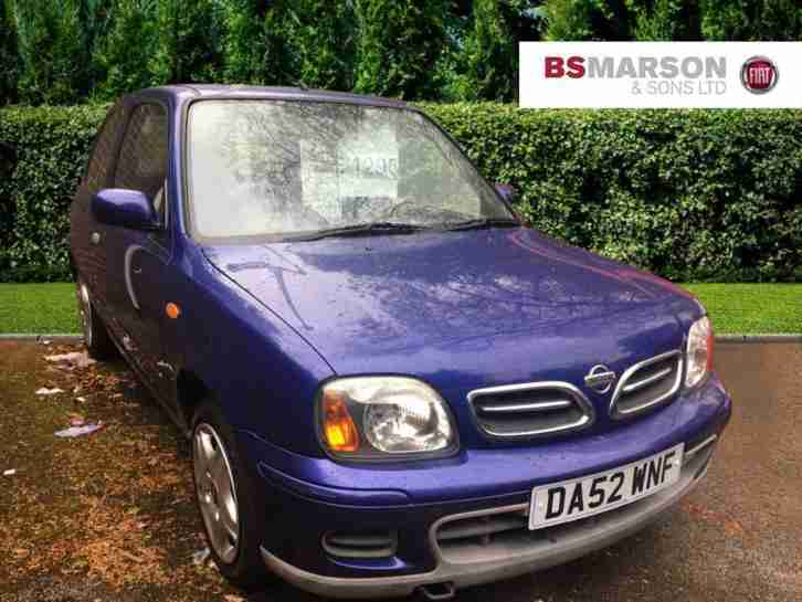 2003 Nissan Micra TEMPEST Petrol purple Manual