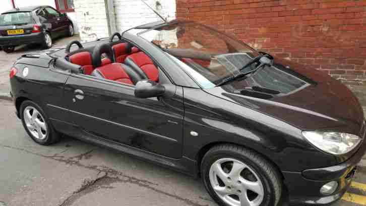 2003 206 ALLURE BLACK 76k 12MTH MOT