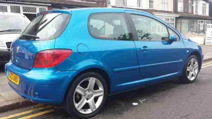 2003 PEUGEOT 307 D TURBO HDI BLUE SPARES OR REPAIRS