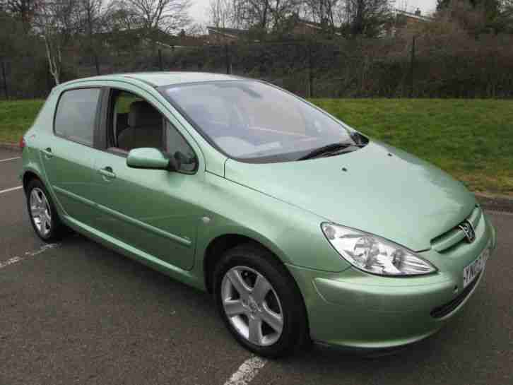 peugeot 2003 307 se automatic green 70 000 miles car for sale. Black Bedroom Furniture Sets. Home Design Ideas