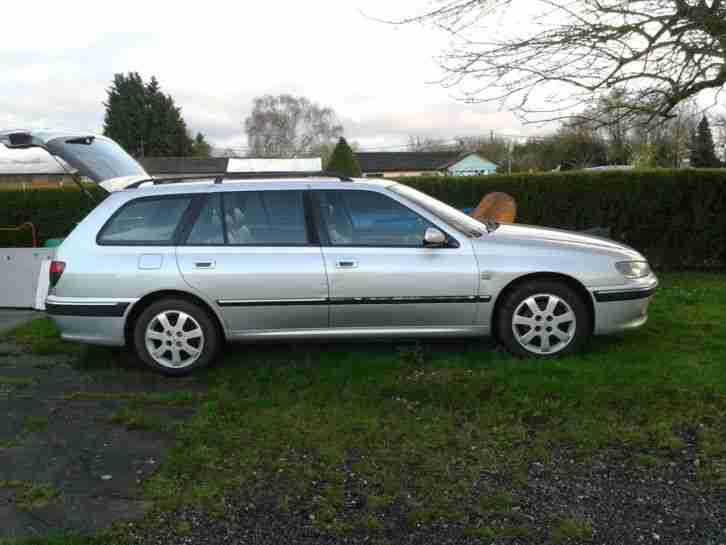2003 PEUGEOT 406 EXECUTVE HDI (110) SILVER