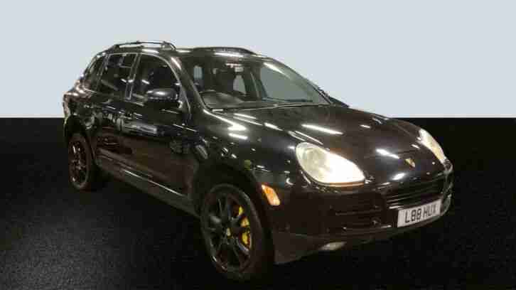 2003 PORSCHE CAYENNE 4.5 S TIPTRONIC LEATHER, PRIVACY GLASS, SUNROOF, LOVELY