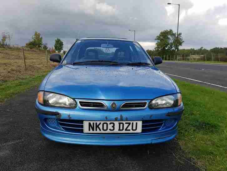 2003 PROTON WIRA LXI E3 BLUE LONG MOT CHEEP RUN ABOUT 1 OWNER FROM NEW LOW MILES