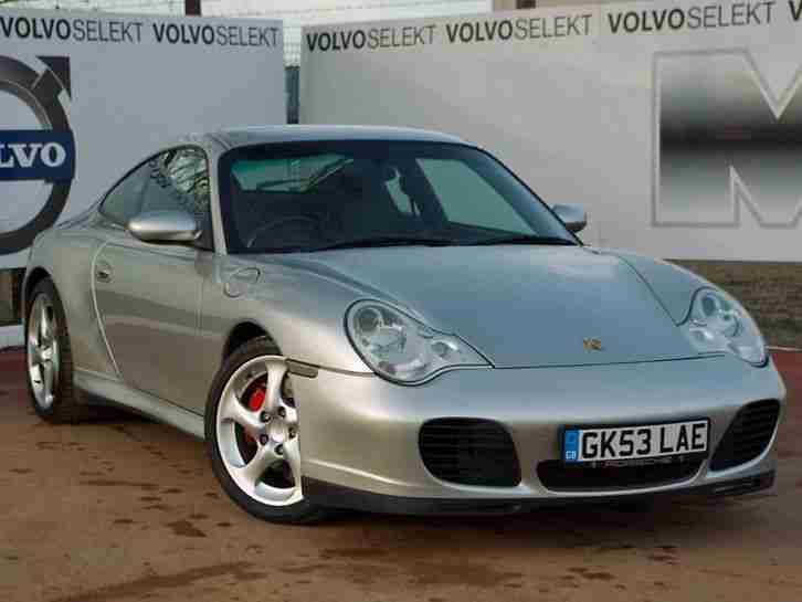 2003 Porsche 911 [996] Carrera 4 Coupe S 2dr Petrol Silver Manual