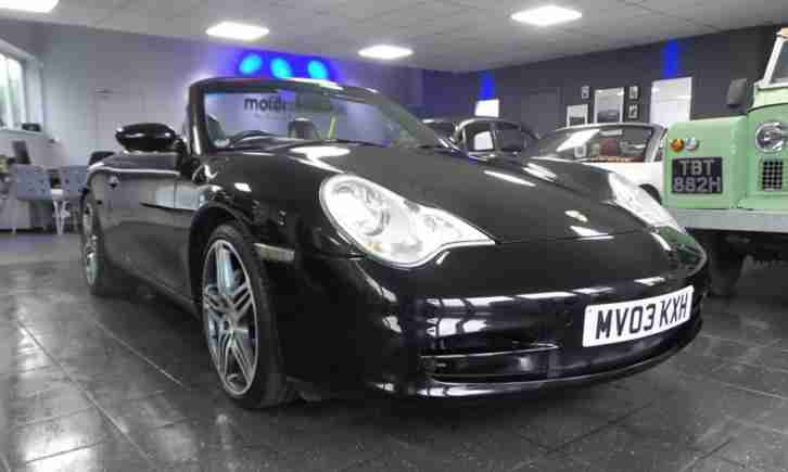2003 Porsche 911 Carrera 4 2dr 2 door Convertible