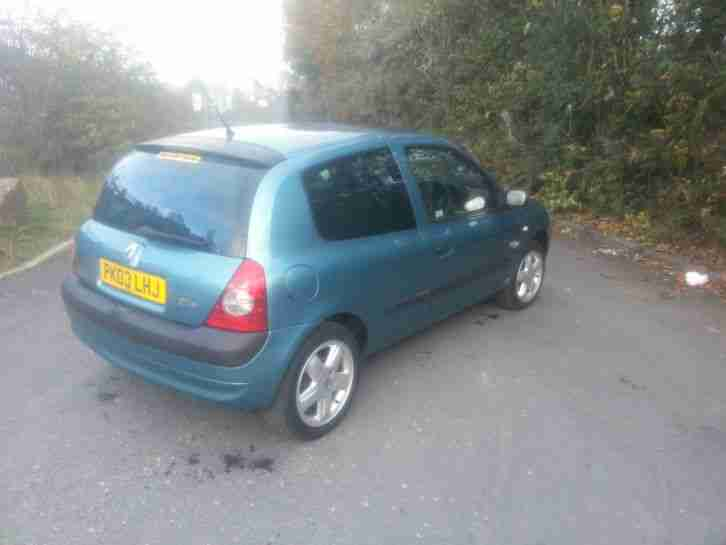 2003 RENAULT CLIO DYNAM BILLABONG 16V ONLY 63K MOT till March, Clean and tidy