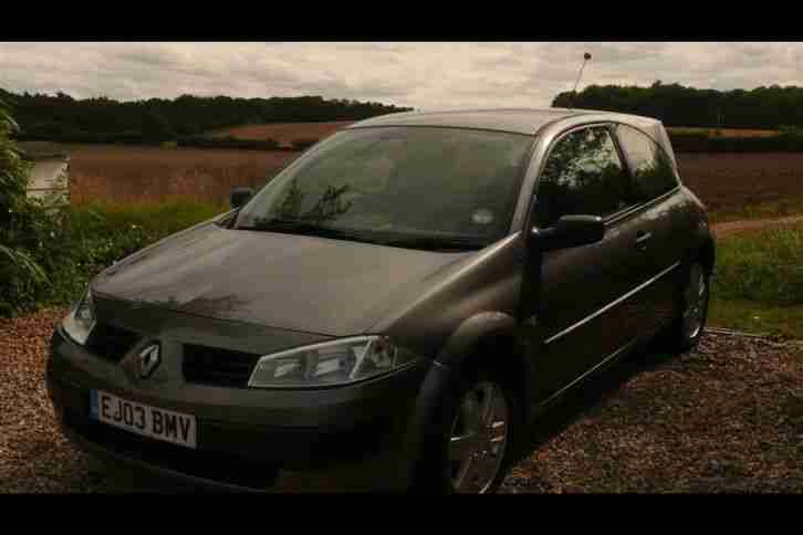 2003 RENAULT MEGANE EXTREME 16V(broken timing belt)