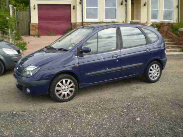 renault 2003 megane scenic fidji dci blue car for sale. Black Bedroom Furniture Sets. Home Design Ideas