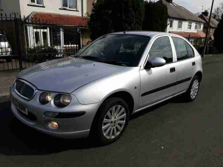 2003 ROVER 25 1.4 IMPRESSION S PETROL LONG MOT CHEAP CAR MG ZR PART EX WELCOME
