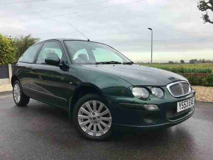 2003 ROVER 25 1.4 Impression 3 Door (27,544 Miles) £200 Road Tax 5 Speed 84BHP