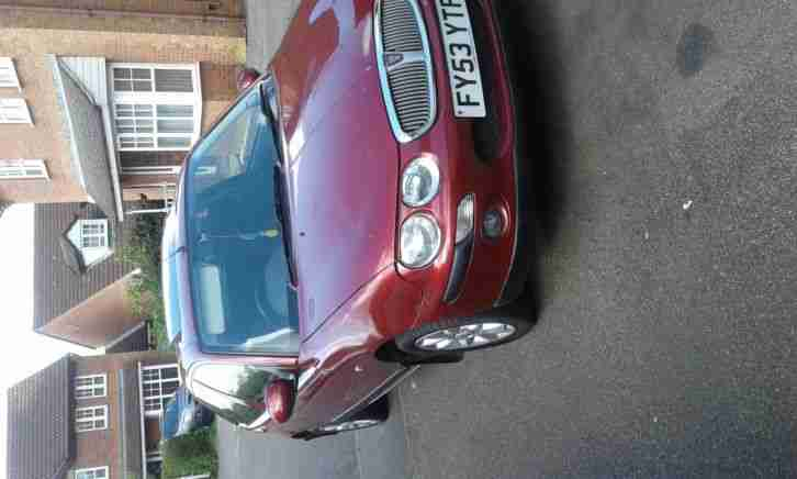 2003 ROVER 25 IMPRESSION 3 RED