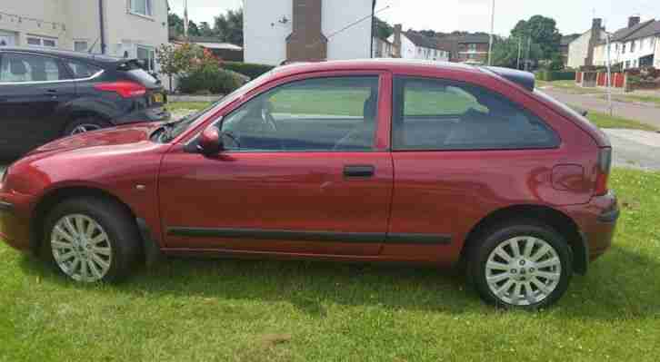 Rover 2003 25 Impression S3 Red Car For Sale