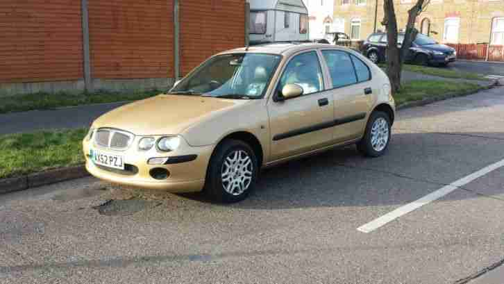 2003 Rover 25 Ixl Gold 1 4 5 Door Years M O T Leather