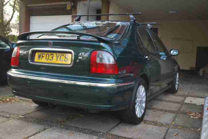 2003 ROVER 45 IMPRESSION S3 GREEN