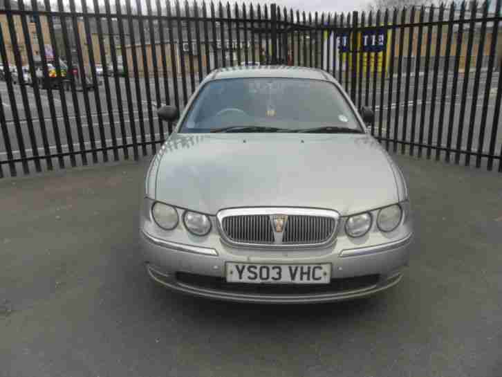 2003 ROVER 75 CLASSIC SE GREEN/ spares or repair