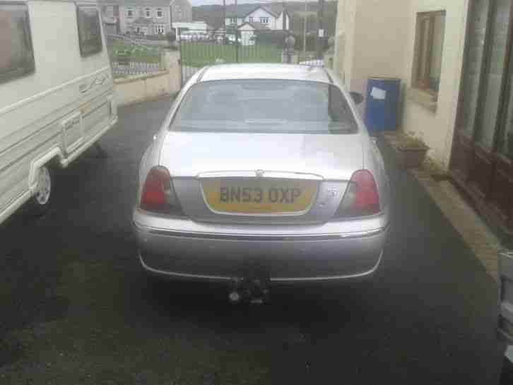 2003 ROVER 75 CLUB CDT SILVER BMW Diesel Engine