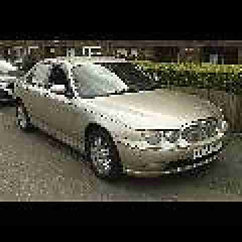 2003 ROVER 75 CLUB SE TURBO AUTO GOLD