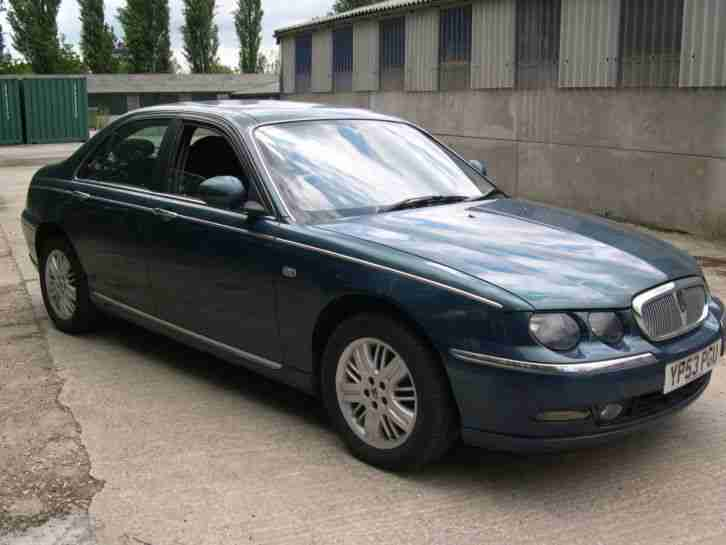 2003 ROVER 75 CLUB SE TURBO LOW MILEAGE ONLY 52500 MILES, MOT FEBRUARY 2017