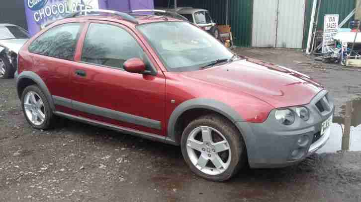 2003 ROVER STREETWISE S RED 11 MONTHS MOT LOW INS GROUP 1.4 CHEAP CAR