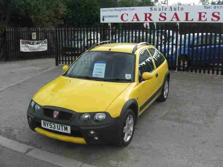 Rover 2003 Streetwise Se 14 Only 62000 Miles In Fantastic Condition