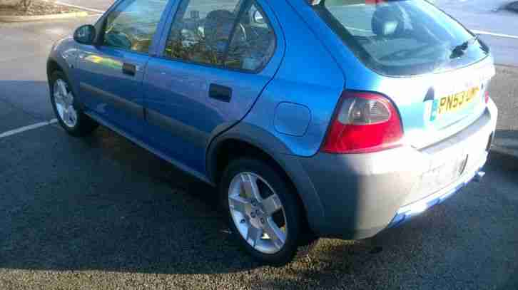 2003 ROVER STREETWISE SE 103 PS BLUE