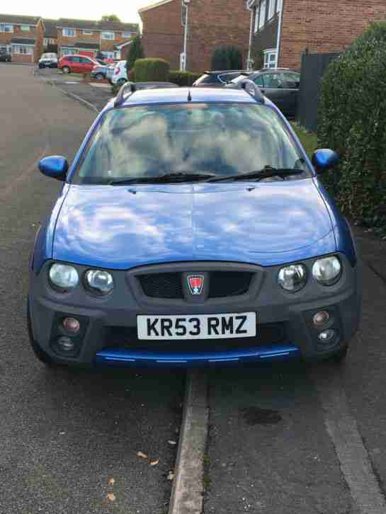 2003 ROVER STREETWISE SE TD BLUE