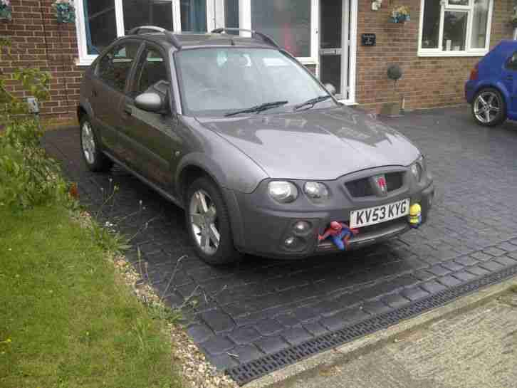 Rover 2003 Streetwise Se Td Grey Car For Sale